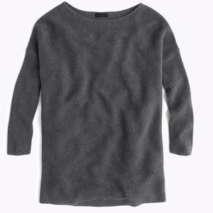J. Crew Collection Italian Cashmere Boatneck Tunic